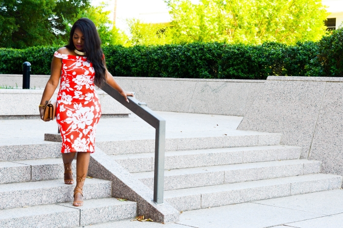 BECAUSE FLORALS ARE ALWAYS IN SEASON, JUST LIKE MIDI DRESSES [FT. HOUSE OF DASHA]
