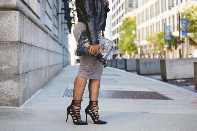 50 SHADES OF GRAY…ALL IN ONE CLUTCH [FT. DIVA EXCHANGE]