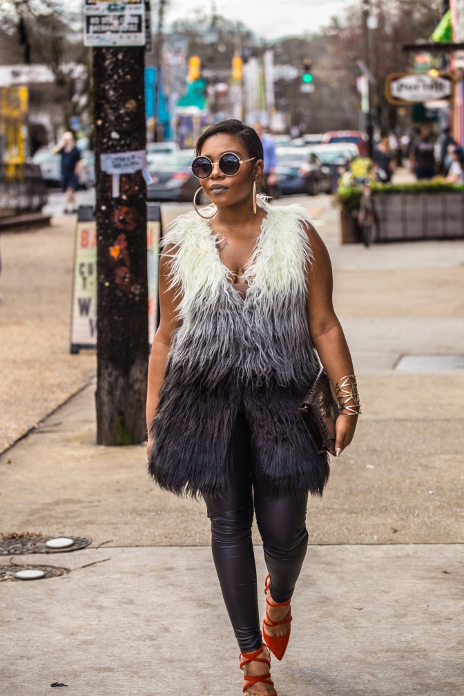DETERMINED TO WEAR MY WINTER FUR…EVEN IF IT IS 70 DEGREES! [FT. HIGH MAINTENANCE BOUTIQUE]