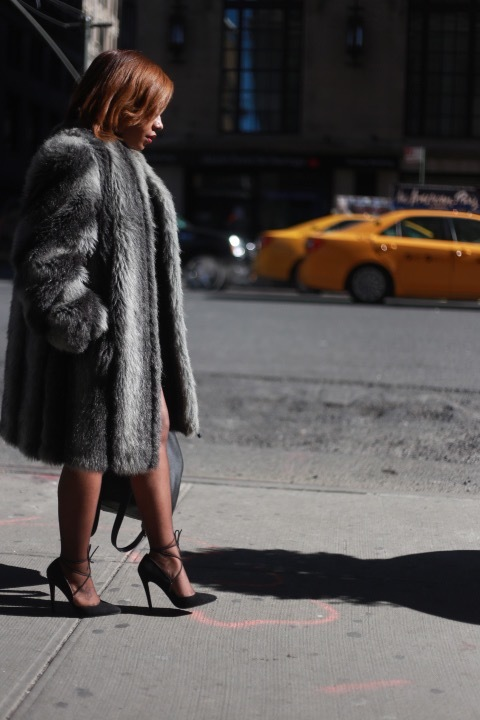 FUR FIERCE-NESS FOR NEW YORK FASHION WEEK[END] : FAUX, FRUGAL, AND & FAB