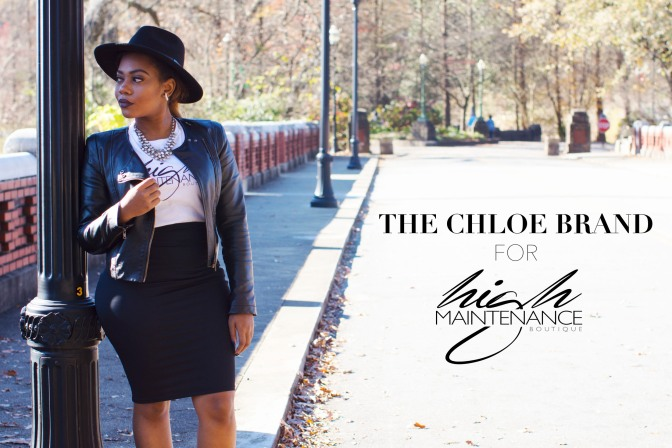 #THECHLOEBRANDNEWS | NAMED BRAND AMBASSADOR FOR HIGH MAINTENANCE BOUTIQUE