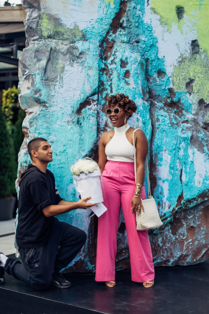 NYFW SS16 DAY 3 : WEAR PINK, STRANGERS WILL GIVE YOU FLOWERS!
